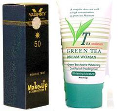 ژل لایه بردار چای سبز