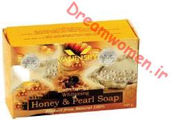 صابون روشن کننده عسل و مروارید