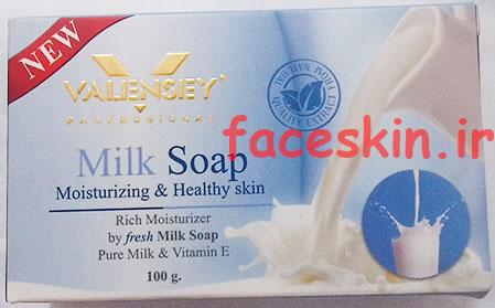 خرید صابون جدید نرم کننده پوست صورت شیر والنسی