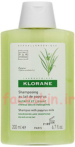 خرید شامپو صاف کننده موی سر پاپیروس کلوران
